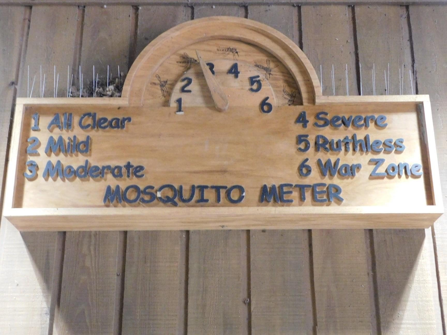 A mosquito meter